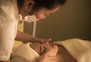 Tratamiento facial oriental