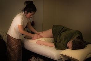 Masaje para embarazadas love mamá